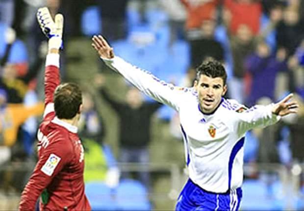 Braulio has played in the Spanish Primera Liga with Real Zaragoza.