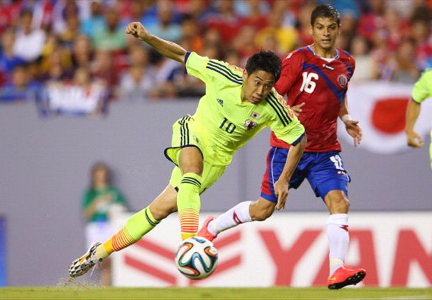 Costa Rica 1-3 Japan: Kagawa leads late show to down Pinto's men