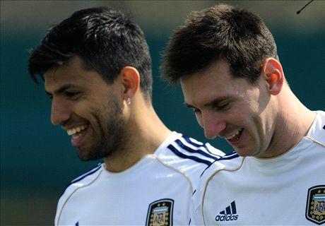 Messi said 'don't cheat on me' - Aguero