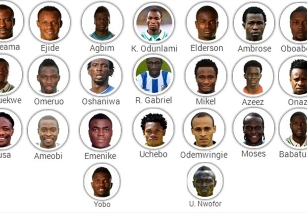 Keshi bewilders with Nigeria World Cup squad