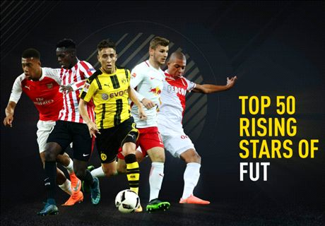 Top 50 des étoiles montantes de FIFA 17