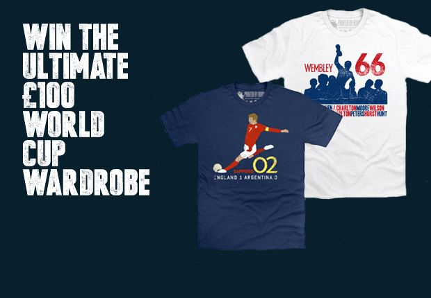 COMPETITION: Win the ultimate World Cup wardrobe