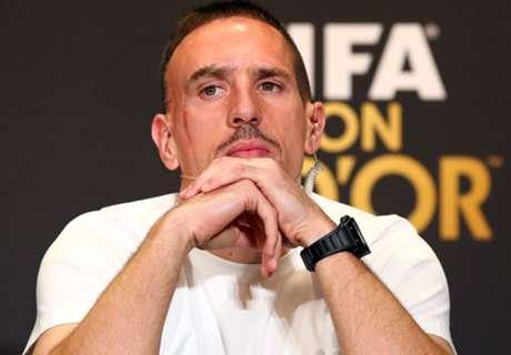 Ribéry hekelt politiek spel Ballon d'Or