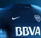 Las seis camisetas de Boca en 2016