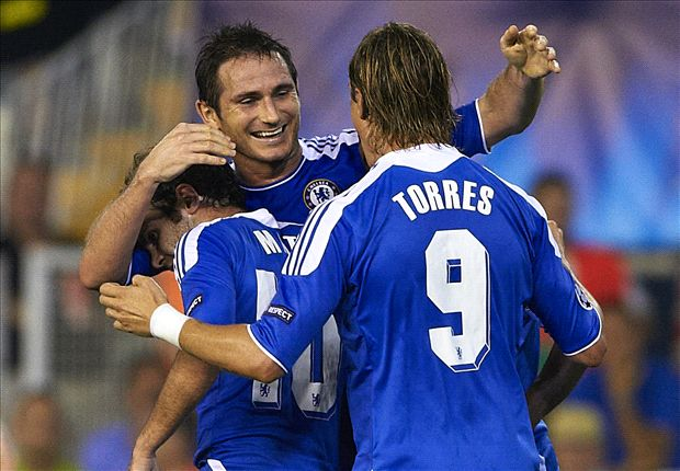 Torres & Mata pay tribute to 'legend' Lampard