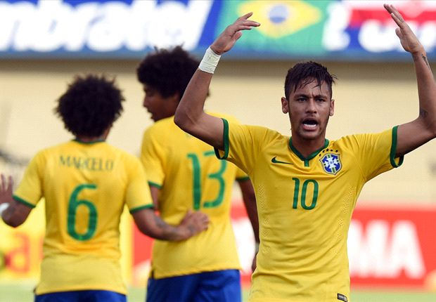 Brazil 4-0 Panama: World Cup hosts stroll to a routine win