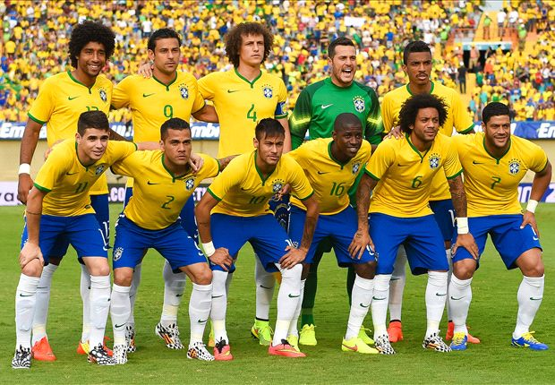 Brazil up to third as England return to top 10 in latest Fifa Ranking
