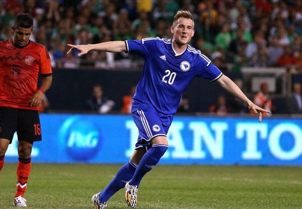 Mexico 0-1 Bosnia-Herzegovina: Hajrovic ends El Tri's unbeaten run