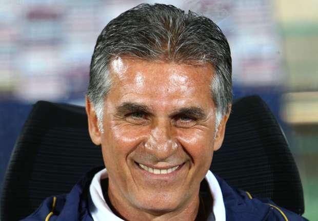 Freut sich auf Messi & Co.: Irans Trainer Carlos Queiroz