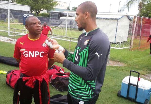 Kwarasey picks up thigh injury in Ghana camp