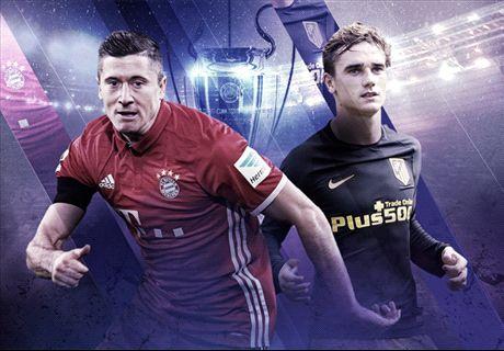LIVE: Bayern Munich v Atletico Madrid