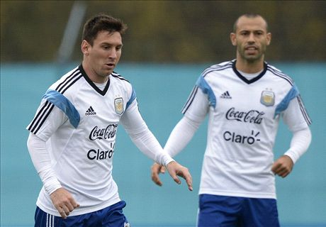 Argentine, Mascherano :
