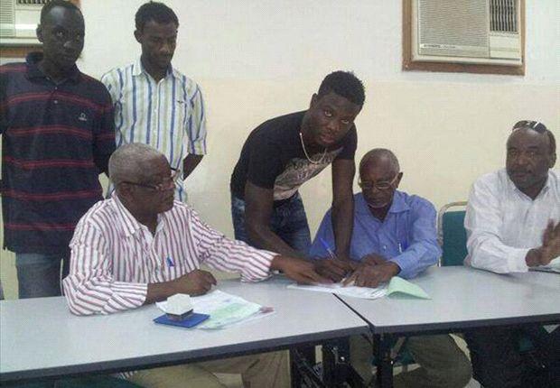 AFC Leopards striker Allan Wanga signs deal with Al Merreikh.