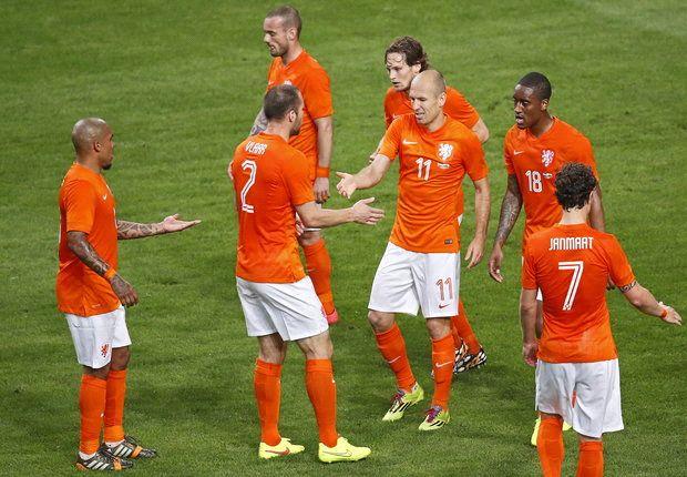 In beeld: Nederland - Wales