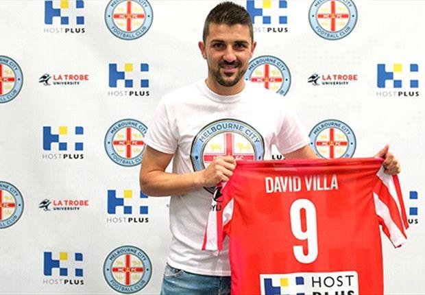 David Villa jugará cedido en el Melbourne City