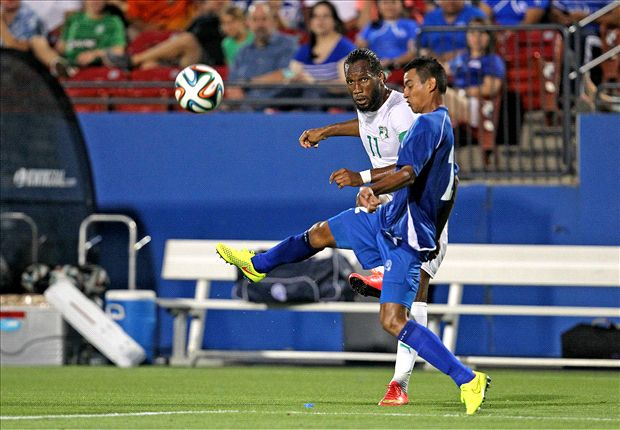 El Salvador 1-2 Ivory Coast: Drogba and Gervinho seal first win in four for Elephants