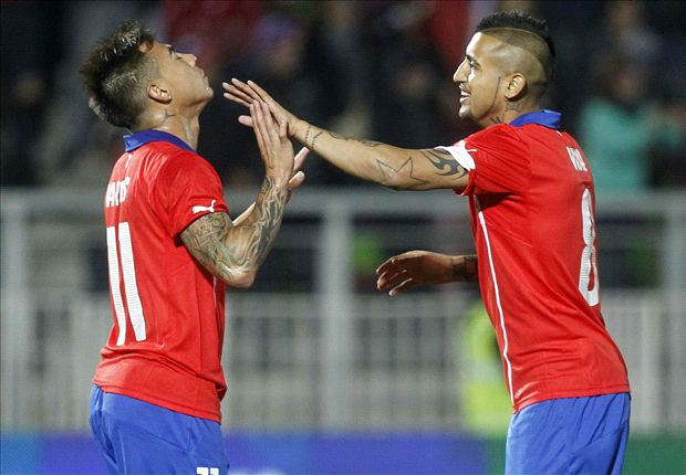 Chile 2-0 Northern Ireland: Vidal returns to action as Alexis plays starring role