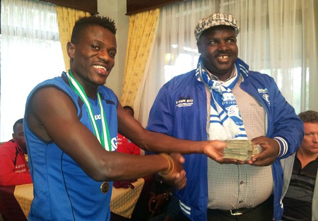 AFC Leopards secretary George Aladwa on Thursday.