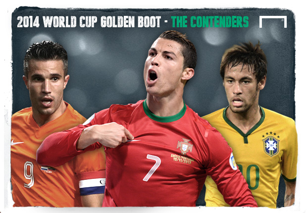 2014 World Cup Golden Boot - The Contenders