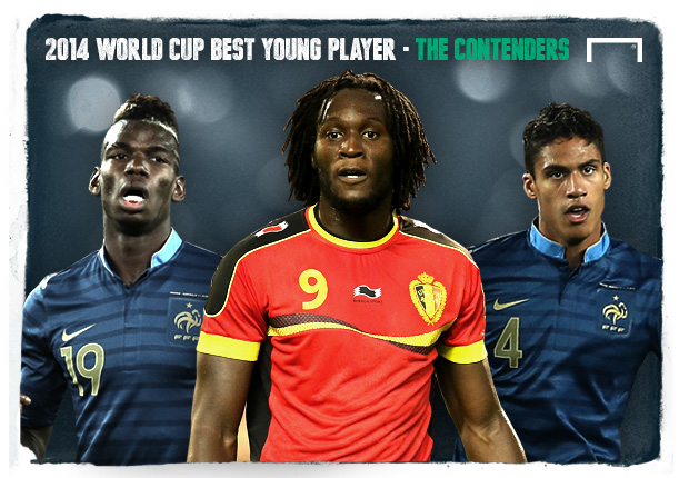 2014 World Cup Best Young Player - The Contenders
