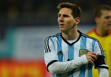 Argentina 'strong & unified' - Messi