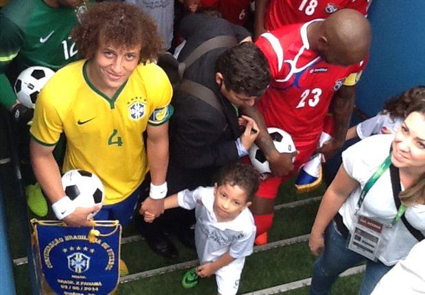 David Luiz: No coração da torcida brasileira