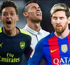 Messi & Ozil, no CR7, in best CL team