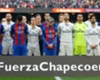 Barcelona and Real Madrid players pay their respects to Chapecoense ahead of the Clasico