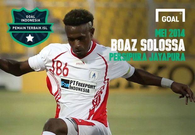 Boaz Solossa pemain terbaik ISL periode Mei 2014