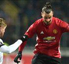 Europa League - Segna Ibra, il Man Utd è 2°