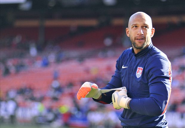 Tim Howard earns 100th cap against Nigeria