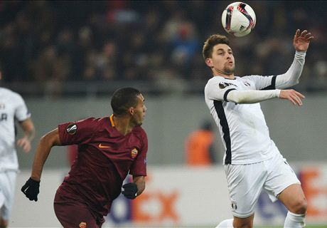 Roma top Group E despite draw