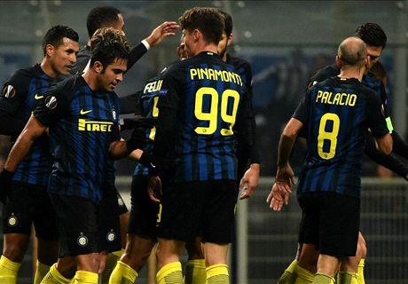 FT: Inter Milan 2-1 Sparta Praha