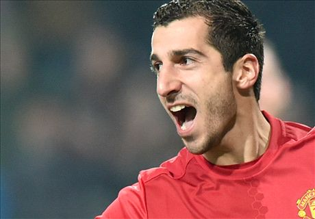 Mkhitaryan stars to send Man Utd through