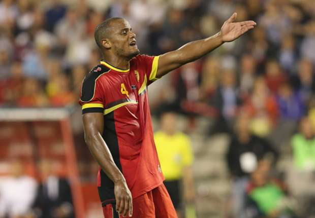Kompany among Belgium stars missing training ahead of World Cup opener