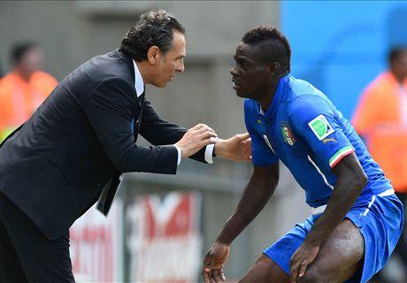 Prandelli wil niets weten van Balotelli