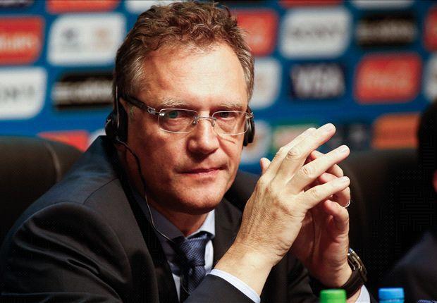 La carta fue firmada por Jerome Valcke, secretario de FIFA