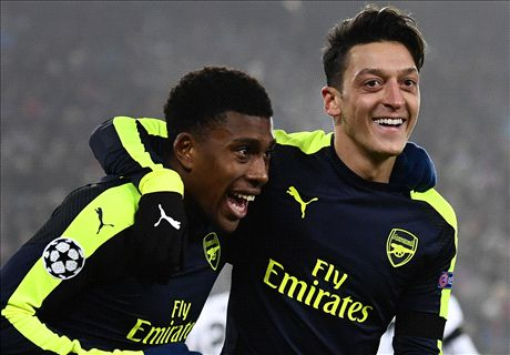 Iwobi: Ozil makes me call him my boss!