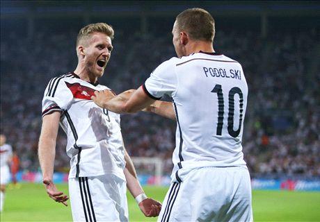 Amistoso: Alemania 6-1 Armenia