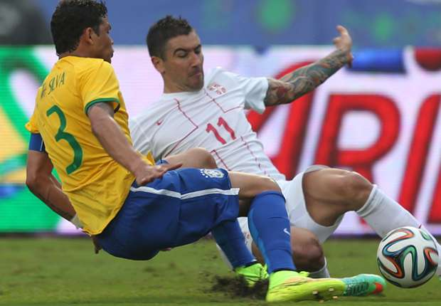 Thiago Silva: Serbia test perfect World Cup preparation