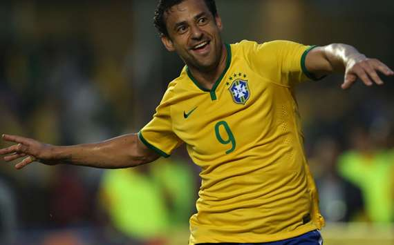 Fred Brazil Serbia Friendlies 06062014