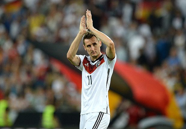 Klose: World Cup fitness much more important than Muller goals record
