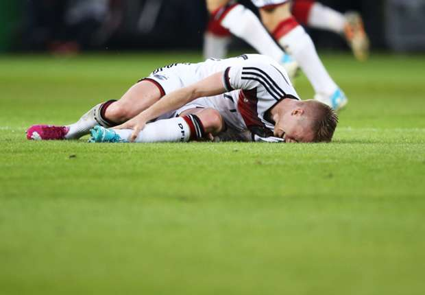 Germany reeling as Reus ruled out of World Cup
