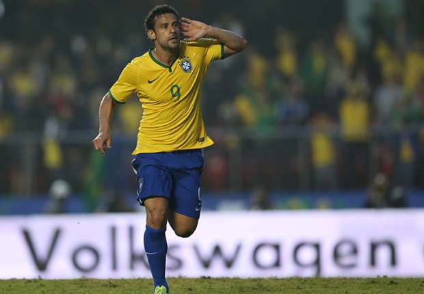 Fred: Brazil not 100 per cent ready for World Cup