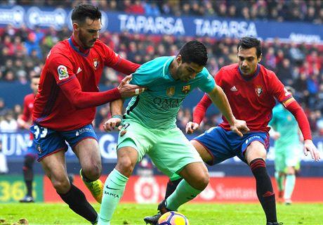 LIVE: Osasuna 0-0 Barcelona