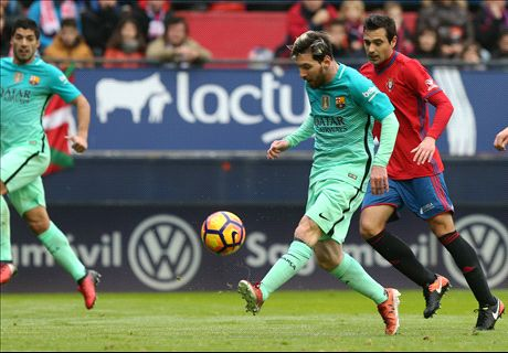 Suarez & Messi fire Barca to victory