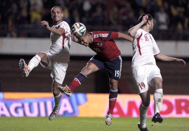 Colombia 3-0 Jordan: Guarin cracker caps comfortable win for Pekerman's side