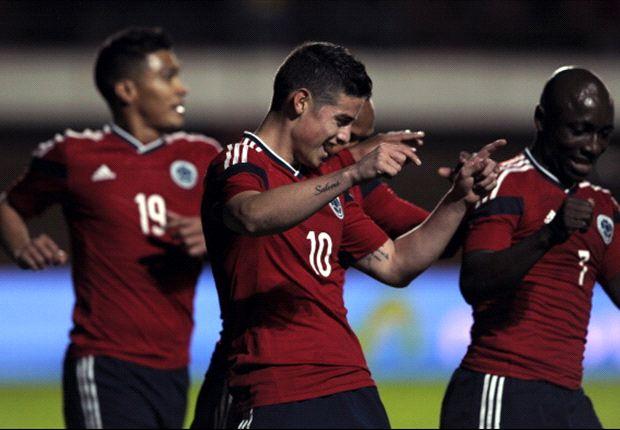 Colombia venció a Jordania en su último partido de preparación