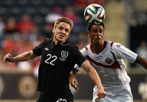 Costa Rica 1-1 Republic of Ireland: Ten-man Central Americans penalise O'Neill's men for profligacy