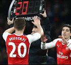 Mustafi off but Bellerin back for Arsenal